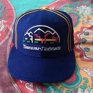 New Era Denver Nuggets Old School Hat